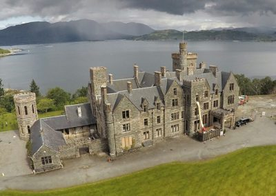 Castle refurbishment, Plockton