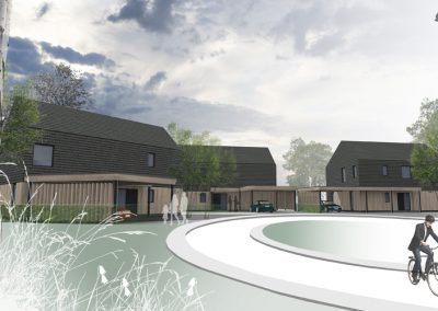 New Build Passivhaus Development (image copyright Paper Igloo Ltd.)
